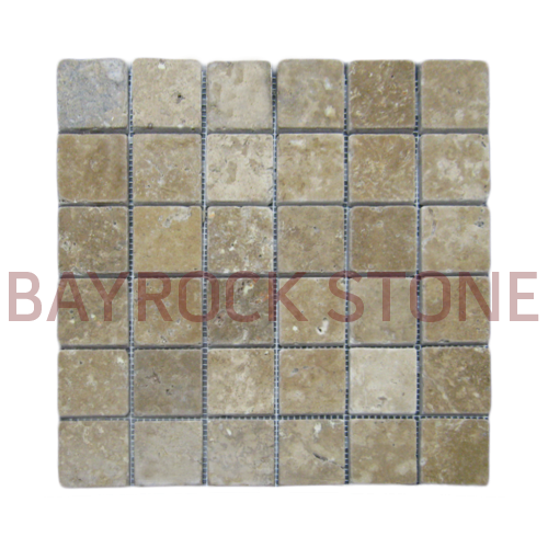 Walnut Travertine Mosaic