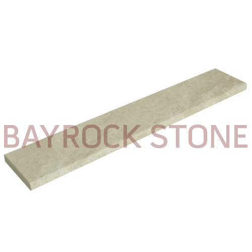 Ivory Travertine Saddle
