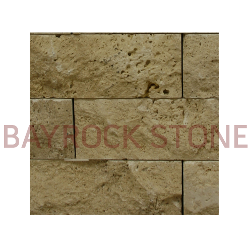 Ivory Travertine Veneer Stone