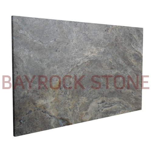 Silver Travertine Outdoor Slab
