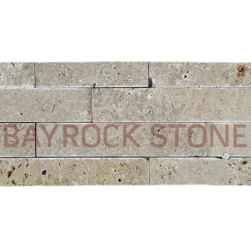 Noce Travertine Ledger Stone