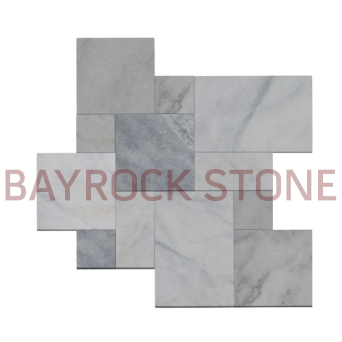 Afyon Ice Marble Tumbled French Pattern