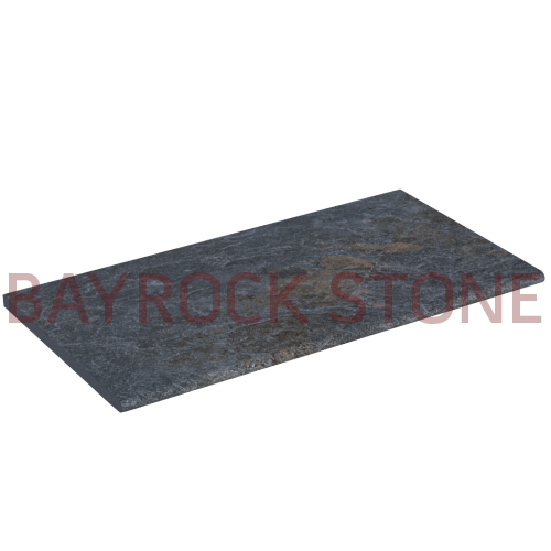 Dark Porcelain Pool Coping