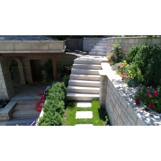 Travertine Block Steps 6''