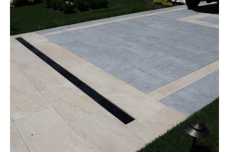Exterior Porcelain Pavers Are Becoming Increasing More Popular So Is The Desire For Porcelain Paver Driveways