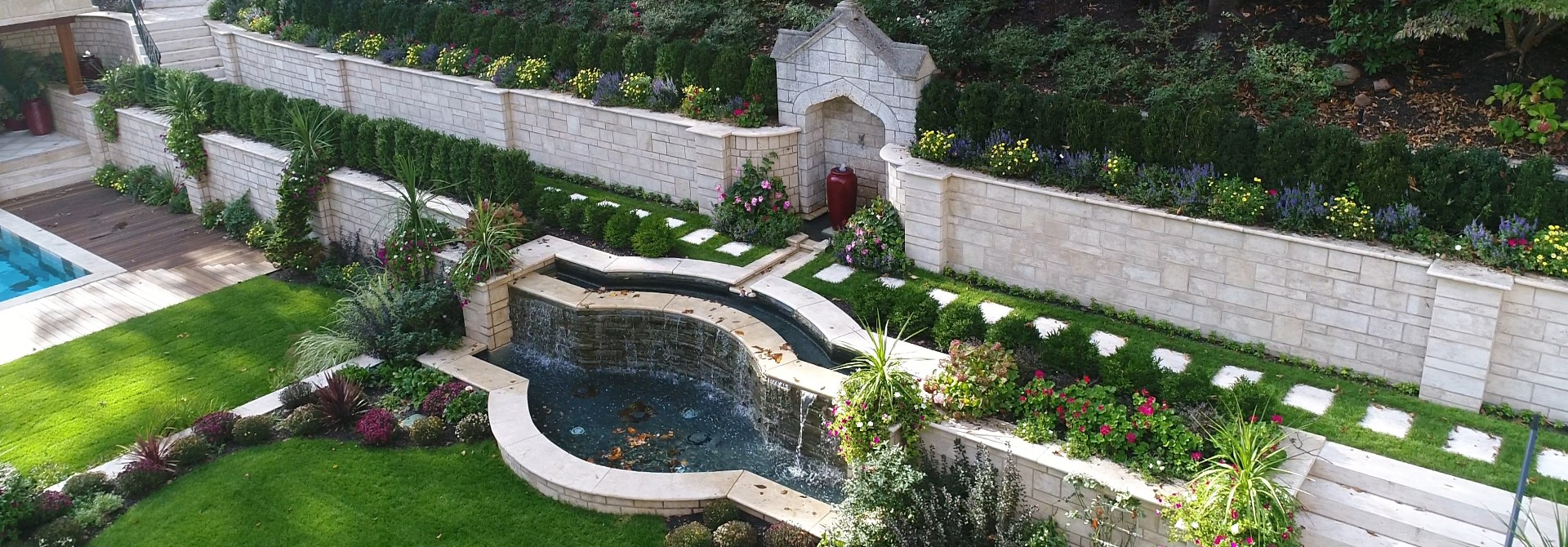 Ivory Arch and Porcelain Pool