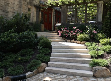 Natural Stone Steps and Treads